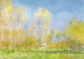 Lente in Giverny, Claude Monet