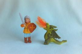 Joris en de draak ( zelfmaakpakketje)