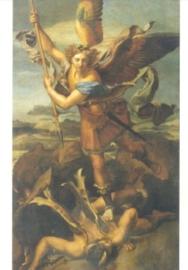 Heilige Michael, de draken dodend, Rafael