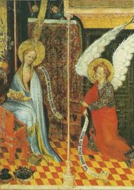 Verkondiging aan Maria, Mittelrheinischer Altar