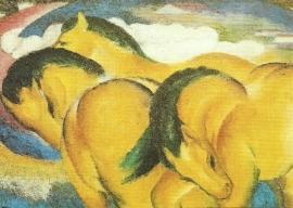 Kleine gele paarden, Franz Marc