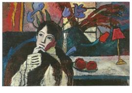 Zich bezinnende vrouw, Gabriele Münter
