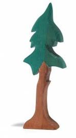 Dennenboom met stam