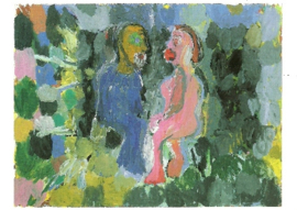 Het liefdespaar, Georg Baselitz