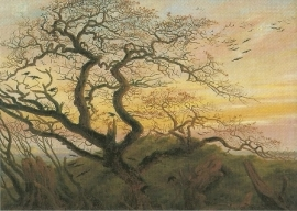 Ravenboom, Caspar David Friedrich