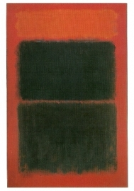Helder rood op zwart, 1957, Mark Rothko
