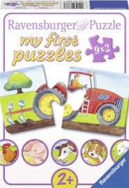 Mijn eerste puzzel Boerderij ( 9 puzzels van 2 stukken, leeftijd 2+)