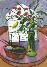Vogelkooi, August Macke