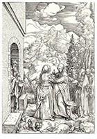 Visitatie, Albrecht Dürer