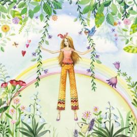 Meisje met regenboog, Kristiana Heinemann