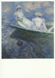 In de boot, Claude Monet