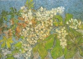 Bloeiende kastanjetak, Vincent van Gogh