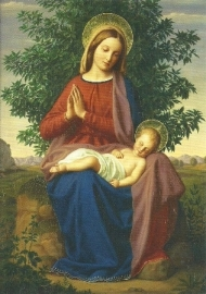 Madonna met kind, Julius Schnorr von Carolsfeld