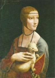 Dame met hermelijn, Leonardo de Vinci