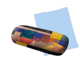 Brillenkoker incl. brillendoekje: Blauer Berg, Paul Klee