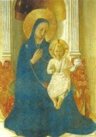 Tronende moeder Gods, Beato Angelico