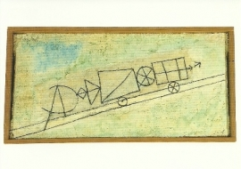 Bergtreintje, Paul Klee