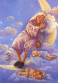 Slapend mannetje, Judy Mastrangelo