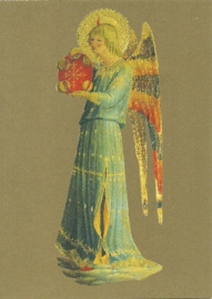 Musicerende engel tamboerijn II, Fra Angelico