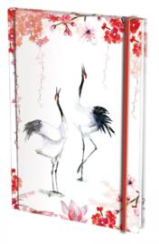 Notitieboek A5, harde kaft: Touch of Zen, Michelle Dujardin
