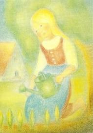 Meisje met gieter, Ruth Elsässer
