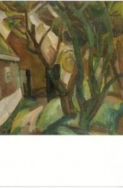 Boerderij met bomen, Leo Gestel