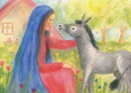 Maria en ezeltje, Ilona Bock