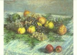 Stilleven met peren en druiven, Claude Monet
