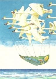 De wilde zwanen, Svend Otto