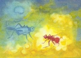 De krekel en de mier, Jula Scholzen- Gnad