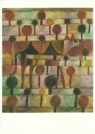 Kameel (in ritmisch landschap), Paul Klee
