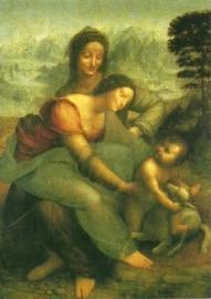 Madonna met kind en St. Anna, Leonardo da Vinci