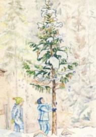 Januari, maandkaart Anne Wenzel