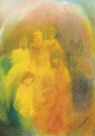 De heilige familie, Katharina Gasteiger