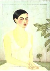 Dame in het wit, Frida Kahlo