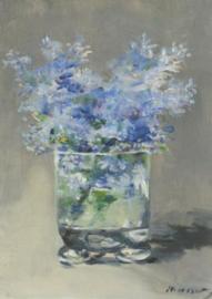 Seringen in een glazen vaas, Edouard Manet