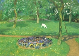 Zomers tuinbeeld, Fritz Overbeck