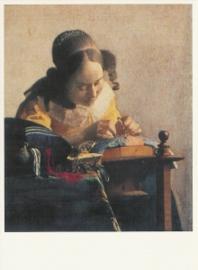 De kantwerkster, Johannes Vermeer