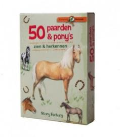 50 paarden & pony's kaartspel (8+)