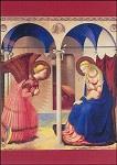 Verkondiging aan Maria (2), Fra Angelico