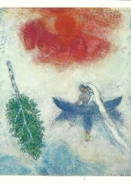 De boot, Marc Chagall