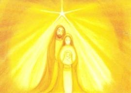 December maandkaart Heilige familie, Heike Stinner