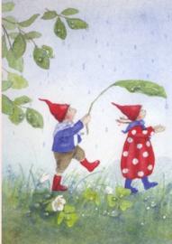 Pippa en Pelle in de regen, Daniela Drescher