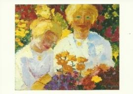 Blonde meisjes, Emil Nolde