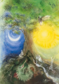 Wereldes Yggdrasil, Cornelia Haendler, poster