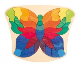 Kleine puzzel Vlinder