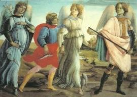 De 3 aartsengelen en Tobias, F. Lippi