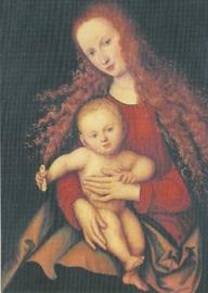 Maria met het kind, Lucas Cranach de Oudere