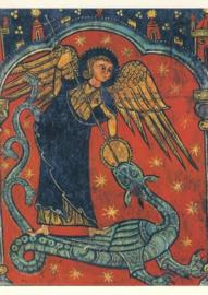 Michael de drakendoder, Romaans