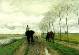 Huiswaarts, Anton Mauve